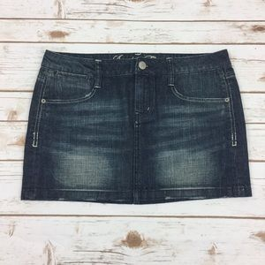 [American Eagle] Jean Mini Skirt Size 6